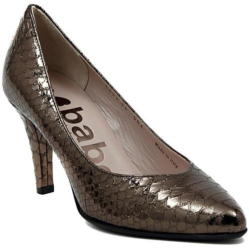 Chaussures Femme Escarpins Le Babe DECOLTE STAMPATO ACCIAIO Multicolore