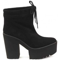 Chaussures Femme Low boots Palomitas TRONCHETTO BABY SILK NERO    111,3