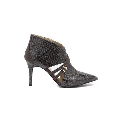 Chaussures Femme Low boots Café Noir CAFèNOIR PITONATO PINTA GRIGIO Multicolore