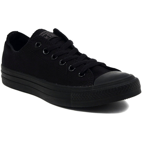 Chaussures Baskets basses Converse ALL STAR  OX BLACK MONOCROME Multicolore