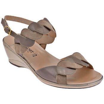 Chaussures Femme Sandales et Nu-pieds Confort 7128 Talon compensé
