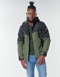 Vêtements Homme Blousons Jack & Jones JCOBEATLE Kaki / Marine