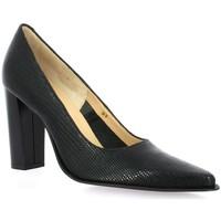 Chaussures Femme Escarpins Vidi Studio Escarpins cuir iguane Noir
