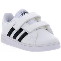 Chaussures Garçon Baskets basses adidas Originals GRAND COURT I Bianco