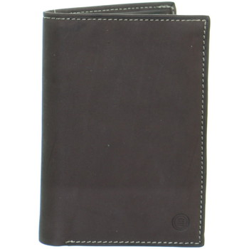 Sacs Homme Portefeuilles Serge Blanco Portefeuille  ref_49559 180 choco 9*14*2 Chocolat