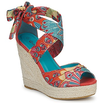 Chaussures Femme Sandales et Nu-pieds Moony Mood EFIRNIL Multicolore