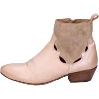 Chaussures Femme Bottines Moma BK110 Rose