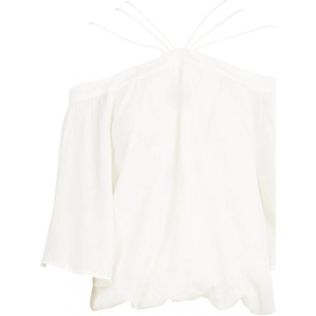 Vêtements Femme Tops / Blouses See U Soon 20111182 Blanc