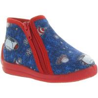 Chaussures Enfant Chaussons bébés Bellamy DAVE Bleu