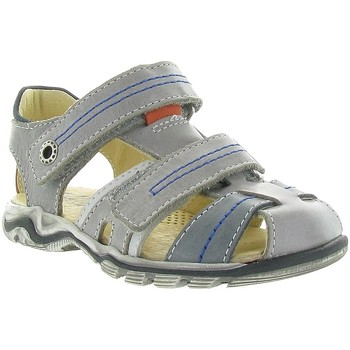 Chaussures Garçon Sandales sport Bellamy CHUT CUIR LISSE Gris