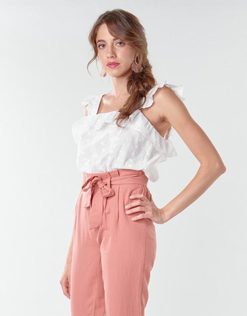 Vêtements Femme Tops / Blouses Betty London OOPSA Blanc
