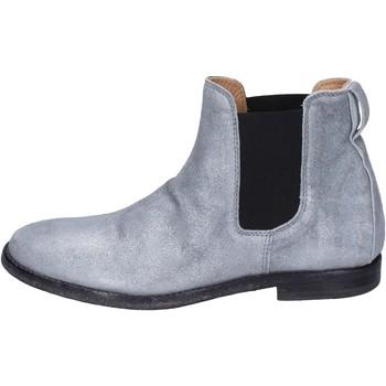Chaussures Femme Bottines Moma BK137 argenté