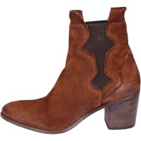 Chaussures Femme Bottines Moma bottines daim marron