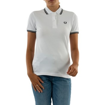 Vêtements Femme Polos manches courtes Fred Perry g3600 200 white blanc