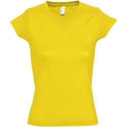 Vêtements Femme T-shirts manches courtes Sols Moon Jaune
