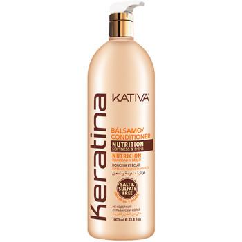 Beauté Femme Soins & Après-shampooing Kativa Keratina Bálsamo Nutrition  1000 ml