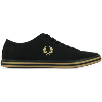 Chaussures Homme Baskets basses Fred Perry Kingston Twill noir