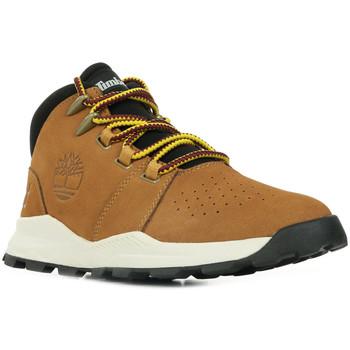 Chaussures Garçon Boots Timberland Brooklyn Alpine Chukka marron