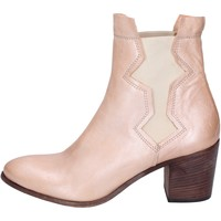 Chaussures Femme Bottines Moma bottines cuir rose