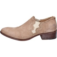 Chaussures Femme Richelieu Moma BK166 beige