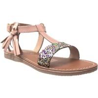 Chaussures Fille Sandales et Nu-pieds L'atelier Tropezien Il112 Rose métallisé