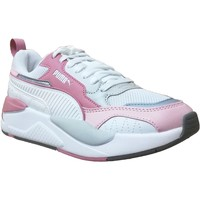 Chaussures Femme Baskets basses Puma X-ray 2 square l Blanc/Gris/Rose