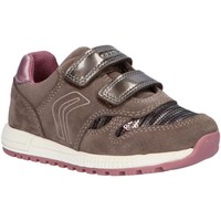 Chaussures Fille Baskets basses Geox B023ZA 022AY B ALBEN Gris