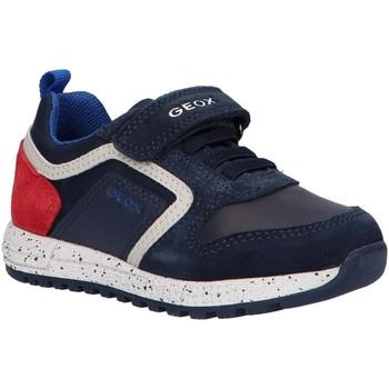 Chaussures Garçon Baskets basses Geox B043CC 022FU B ALBEN Azul