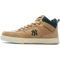 Chaussures Enfant Baskets montantes New York Chaussures Sportswear Enfant  Vadim Mid Jr Camel