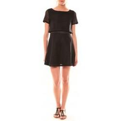 Vêtements Femme Robes courtes Carla Conti Robe LC-0461  Noire Noir