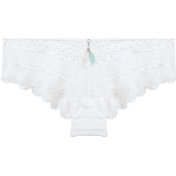 Sous-vêtements Femme Shorties & boxers Pommpoire Shorty ivoire Orage Blanc
