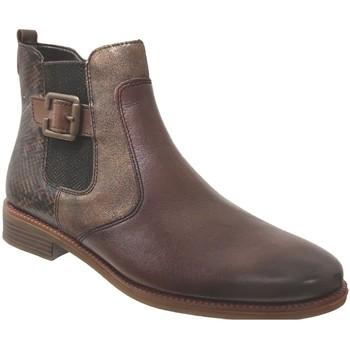 Chaussures Femme Bottines Remonte Dorndorf R6382 Marron moyen cuir