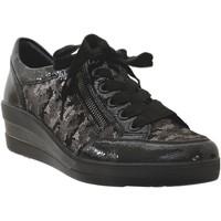 Chaussures Femme Derbies Remonte Dorndorf R7209 Noir brillant