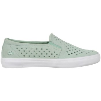 Chaussures Femme Slip ons Lacoste Gazon Slip ON 216 1 Caw Vert
