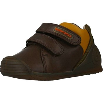 Chaussures Garçon Baskets basses Biomecanics 191155 Marron