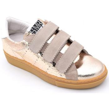 Chaussures Femme Baskets basses Semerdjian donig 4746 Doré