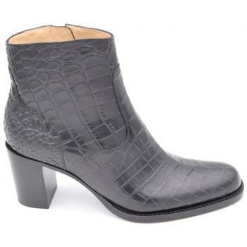 Chaussures Femme Boots Freelance legend 7 croco Noir