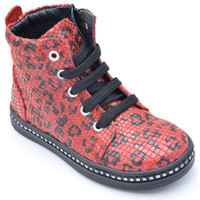Chaussures Fille Boots Bellamy leslie Rouge