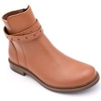 Chaussures Fille Boots Bellamy nanou Marron