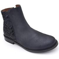 Chaussures Fille Boots Bellamy clea bleu
