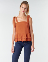 Vêtements Femme Tops / Blouses Betty London OULINE Rouille