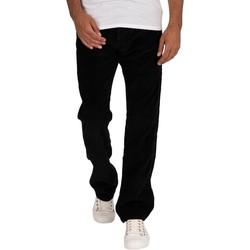 Vêtements Homme Jeans droit Lois Nouveau jean Dallas à gros cordon noir