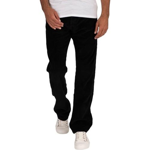 Noir LOIS Jeans Hommes Nouveau Dallas Jumbo Cordon Jeans