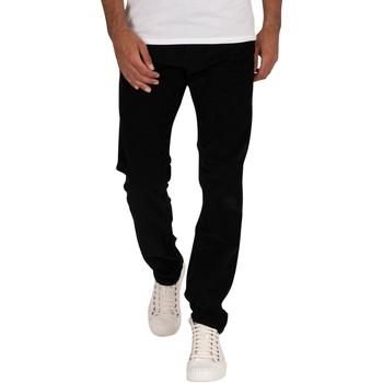 Vêtements Homme Jeans droit Lois Jean Sierra en velours côtelé noir