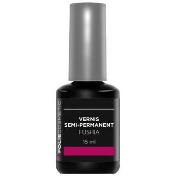 Beauté Femme Vernis à ongles Folie Cosmetic Vernis Semi permanent  Fushia   15ml Rose
