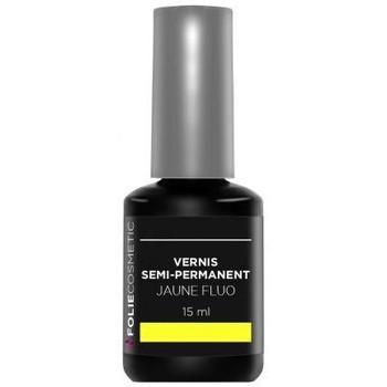 Beauté Femme Vernis à ongles Folie Cosmetic Vernis Semi permanent  Jaune Fluo   15ml Autres