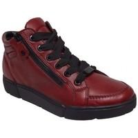 Chaussures Femme Baskets montantes Ara Basket montante 14435-05 rouge
