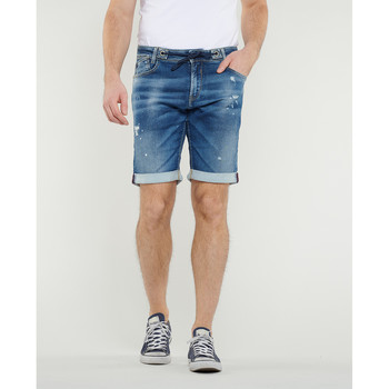 Vêtements Homme Shorts / Bermudas Japan Rags Bermuda blue jogg bleu BLUE