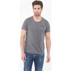 Vêtements Homme T-shirts manches courtes Japan Rags T-shirt vadim gris BLACK