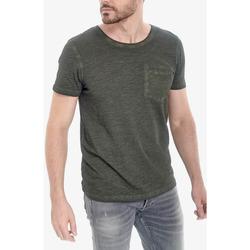 Vêtements Homme T-shirts manches courtes Japan Rags T-shirt morice kaki BURNT OLIVE